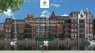 Website Estate Invest vernieuwd! -